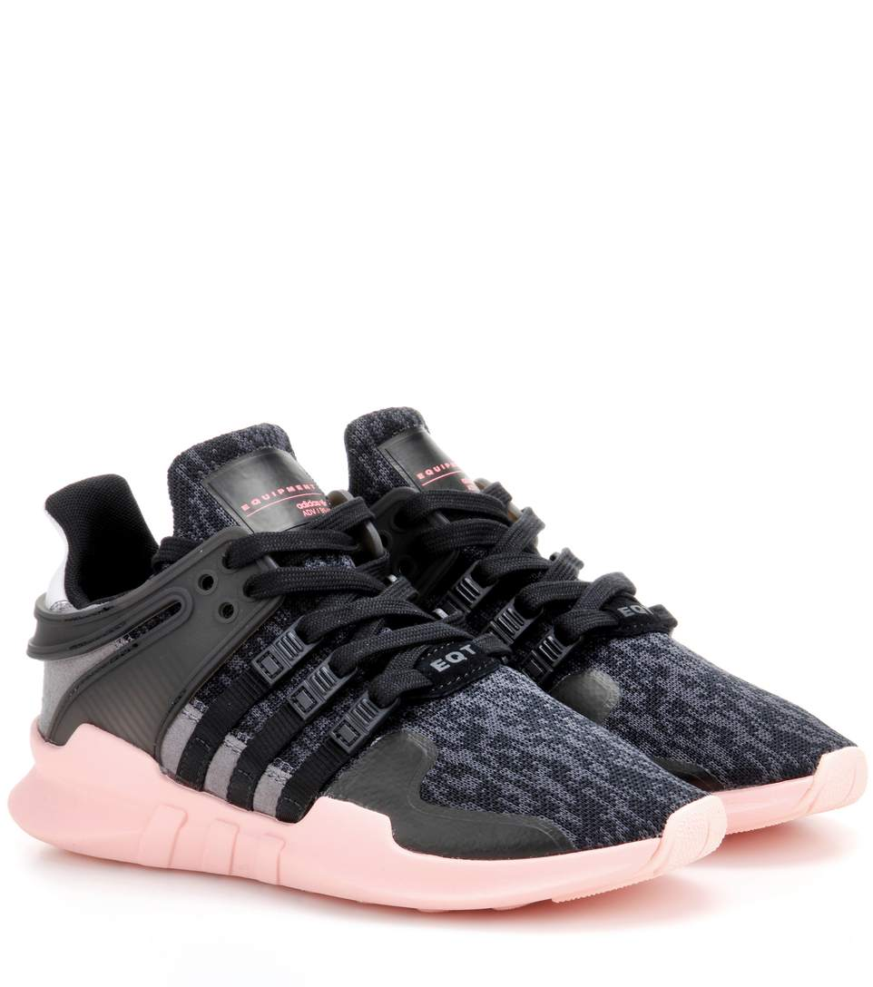 5b60f247a21a ADIDAS ORIGINALS ORIGINALS EQT SUPPORT ADV BLACK AND PINK ADIDAS SNEAKER