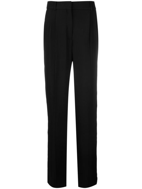 Tom Ford High-Waisted Trousers - Black