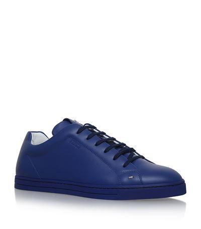 Chaussures De Sport Bleu Fendi cEXTFvV