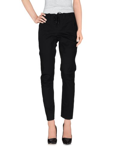 BARBARA BUI CASUAL PANTS, BLACK