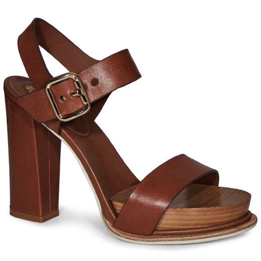 TOD'S Sandals In Leather in Brown