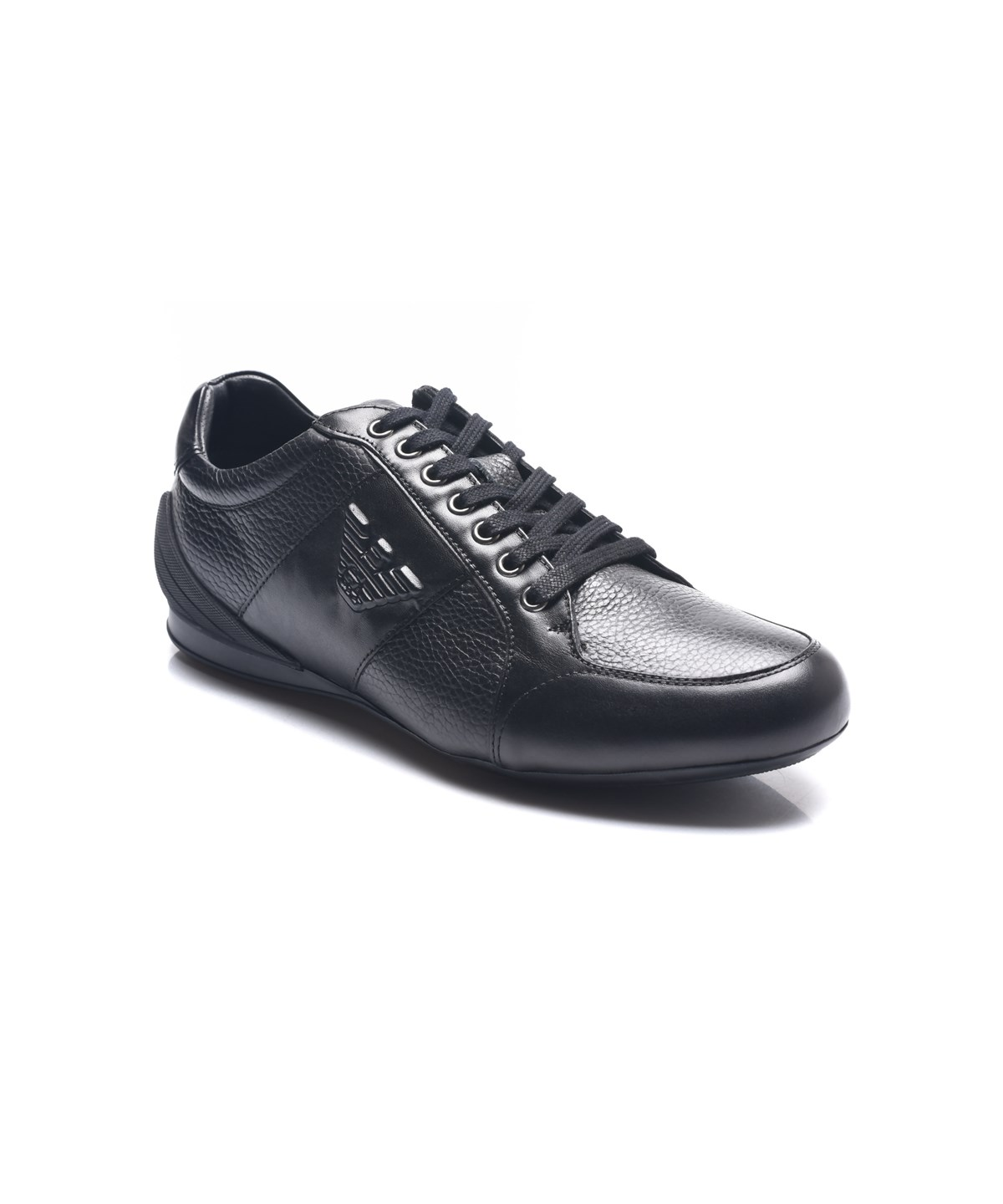 Giorgio Armani Logo Sneaker Cheap Sale Fast Delivery Cheap Sale For Cheap KiUGA