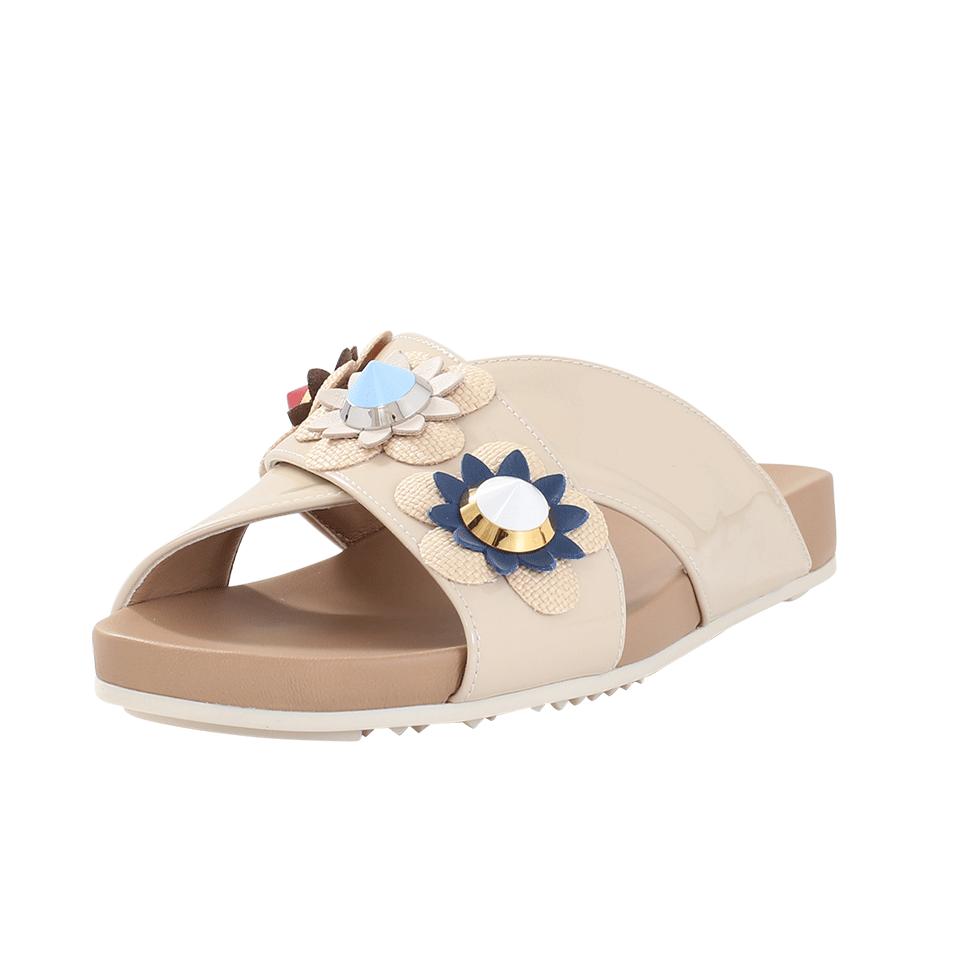 Fendi 2018 Flowerland Slide Sandals Free Shipping For Cheap Buy Cheap Nicekicks zc16AUyRnH