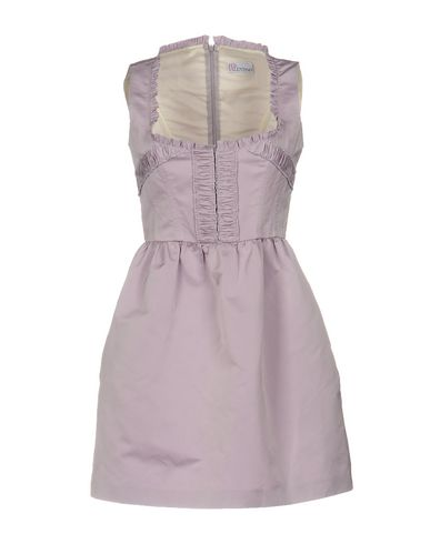 RED VALENTINO SHORT DRESSES, LILAC