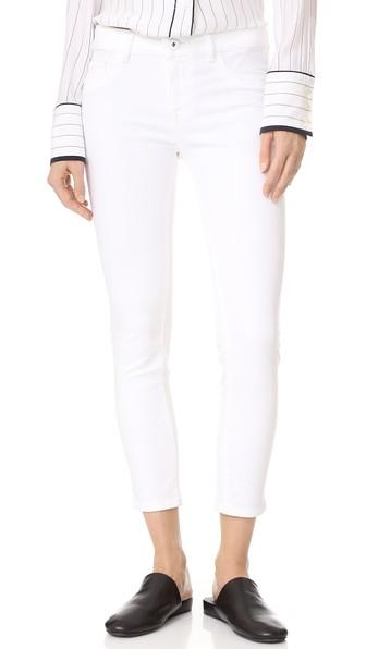 DL1961 1961 Florence Cropped Skinny Jeans in Porcelain