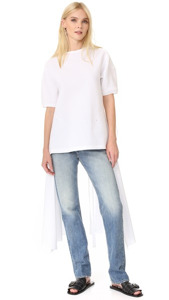 Esteban Cortazar Short Sleeve T-Shirt, White