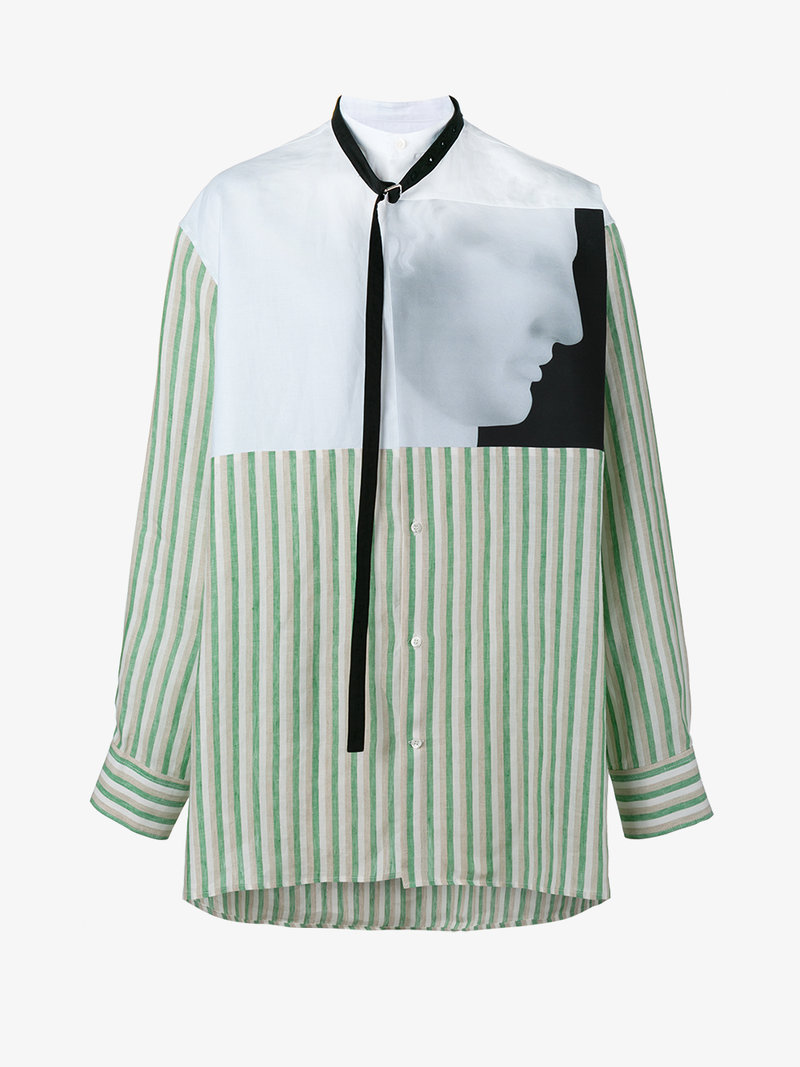 Raf simons x robert mapplethorpe ermes printed shirt for Raf simons robert mapplethorpe shirt