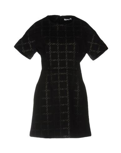 T BY ALEXANDER WANG SHORT DRESS, BLACK