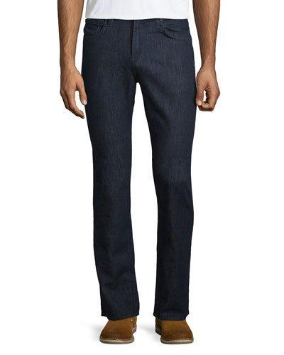 J BRAND Men'S Kane Clean Wash Straight-Leg Denim Jeans, Hirsch in Navy