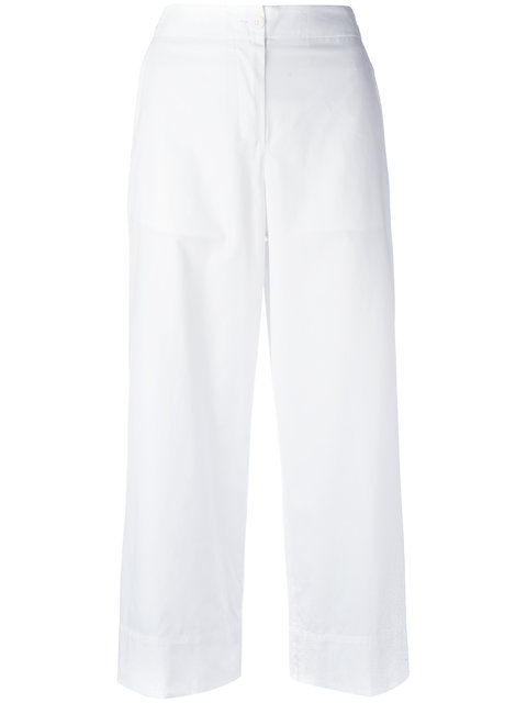 I'M Isola Marras Cropped Trousers - White