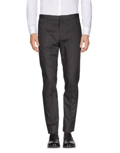 DOLCE & GABBANA CASUAL PANTS, LEAD