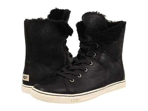 UGG Croft in Black Twinface/Leather