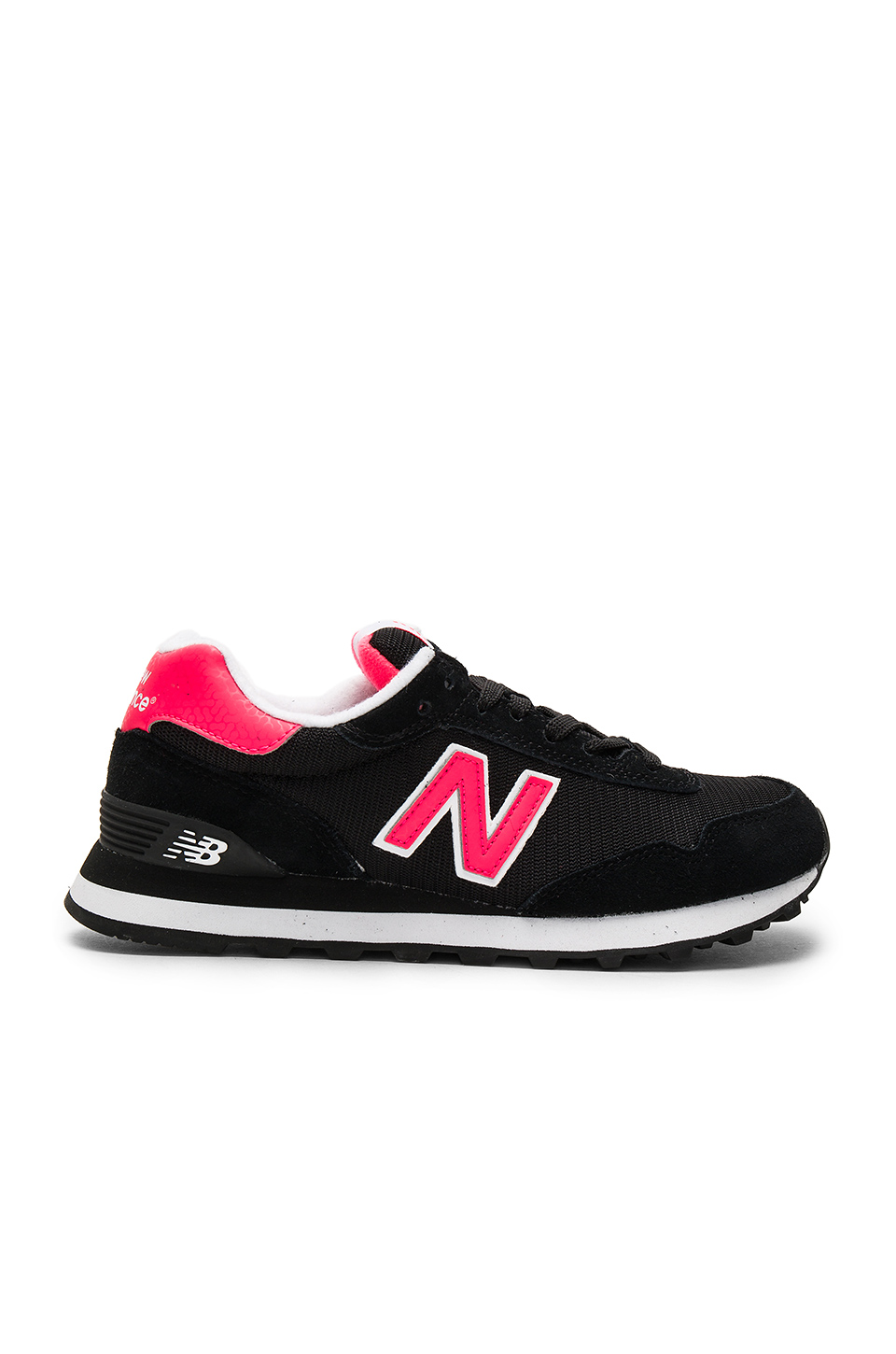 NEW BALANCE 515 Sneaker In Black. in Black & Bright Cherry