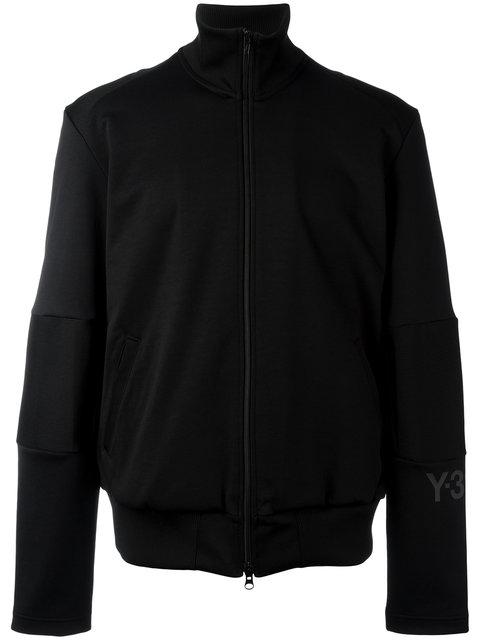 Y-3 Zip-Front Track Jacket In Black