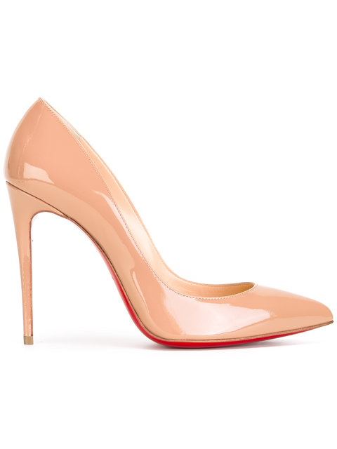 Pigalle Patent Leather Pumps - Pk1A Nude Size 11 in Neutrals