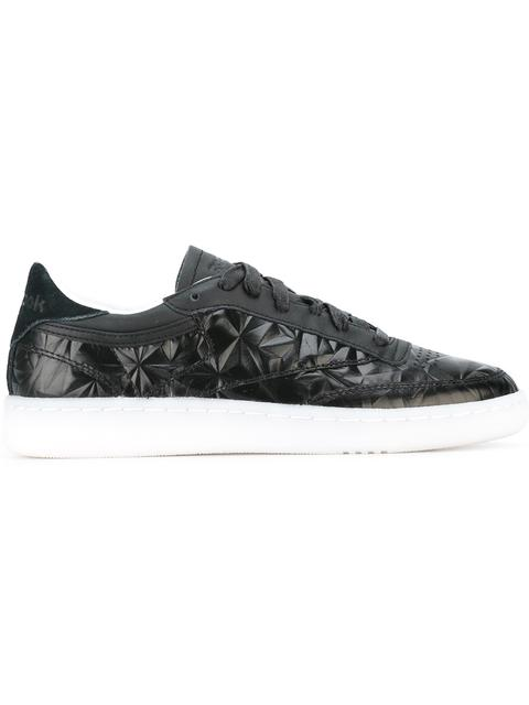 Women'S Club C Hype Metallic Casual Sneakers From Finish Line, Black
