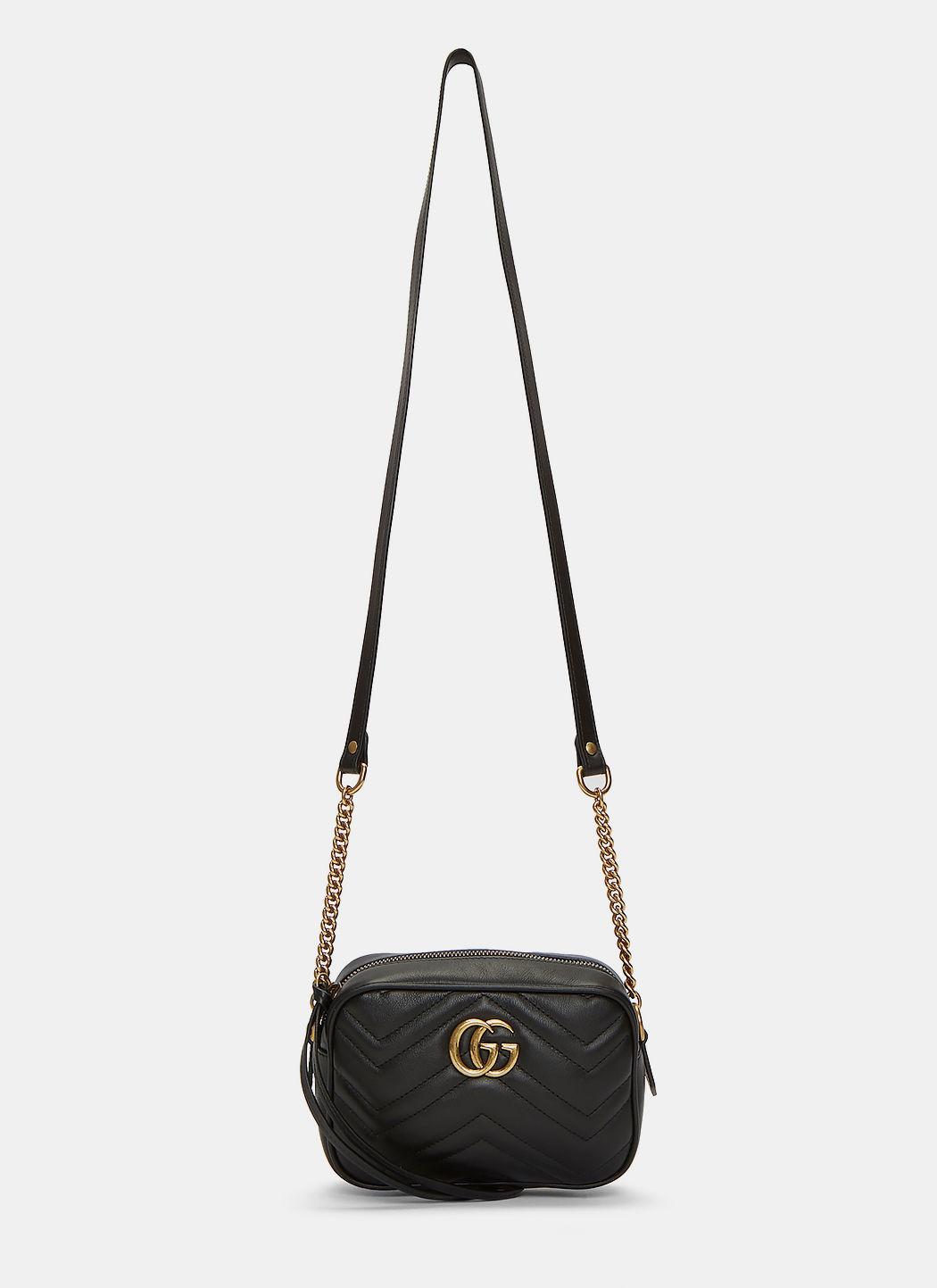 335ec078ac6f66 Gucci Women'S Gg Marmont MatelassÉ Mini Bag In Black | ModeSens