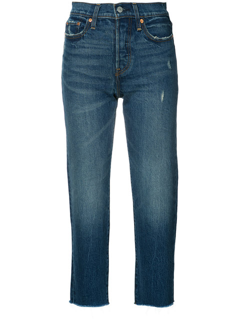 Blue Wedgie Straight Jeans