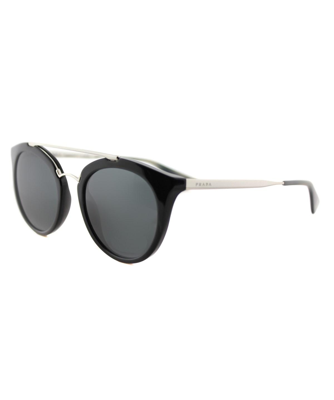 88b5ecf5399 PRADA Cinema Round Plastic Sunglasses
