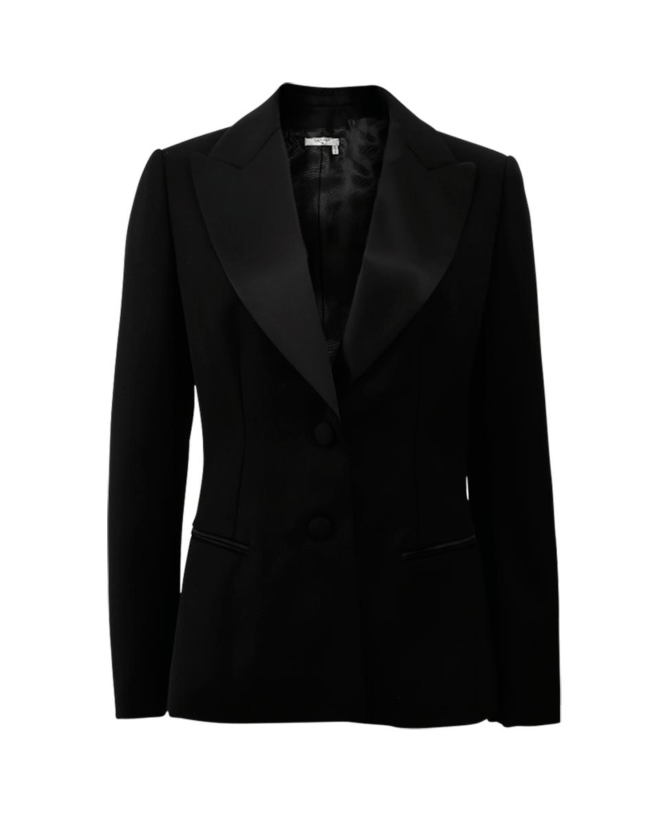 Lanvin Tuxedo Blazer, Black
