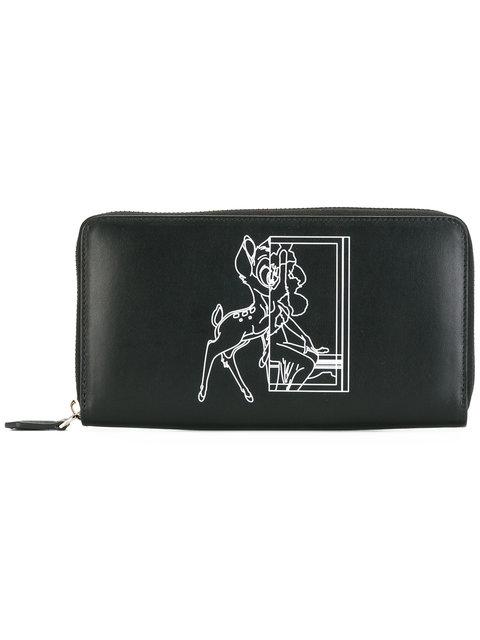 Givenchy Bambi Print Wallet - Black