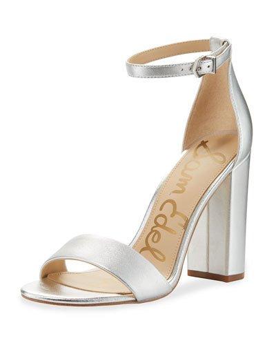 69cab83b4f17 Sam Edelman Yaro Metallic Block-Heel Sandal