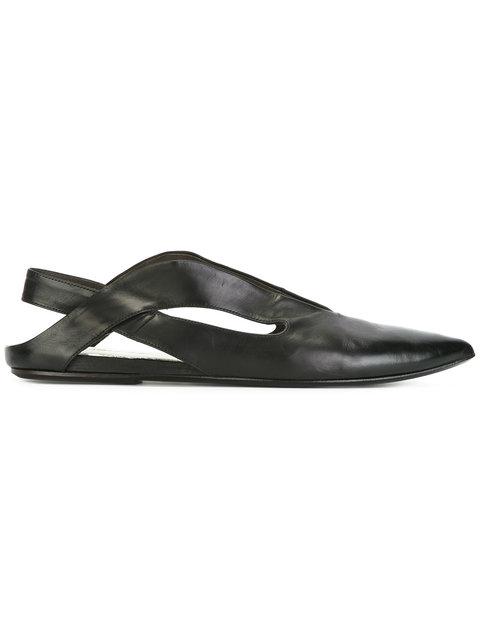 MARSÈLL Marsell Black Stuzzicadente Ballerina Flats