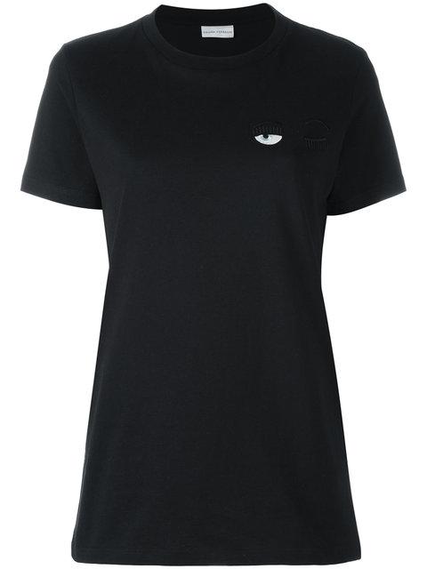 Flirting Eye T-Shirt, Black