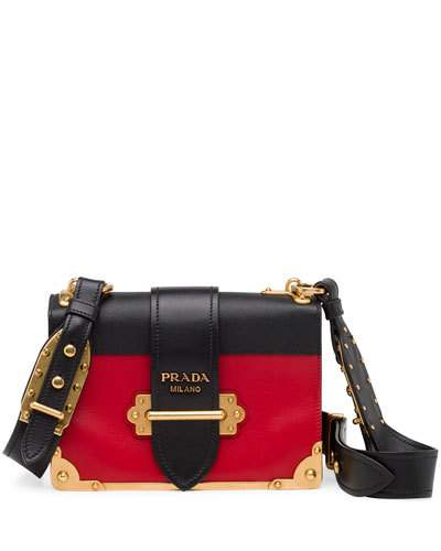 5e9f9c259c7f PRADA CAHIER NOTEBOOK SHOULDER BAG