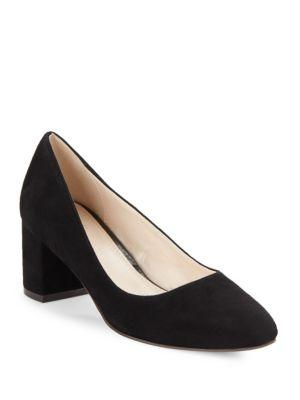 Claudine Pump 55Mm Ii, Black Suede