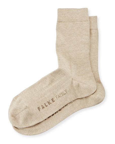 Falke Family Ankle Socks, Sand