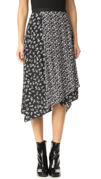 Buy Cheap Big Sale Rag & Bone Floral Wrap Skirt Pictures Cheap Price Outlet Top Quality LgW53OGRu
