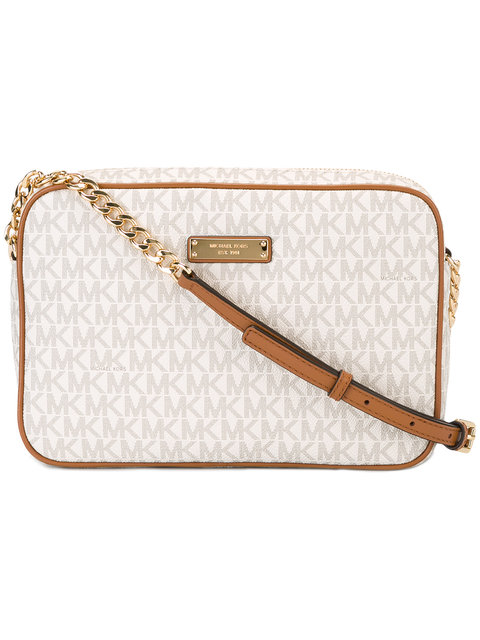 East/West Large Crossbody in Neutrals