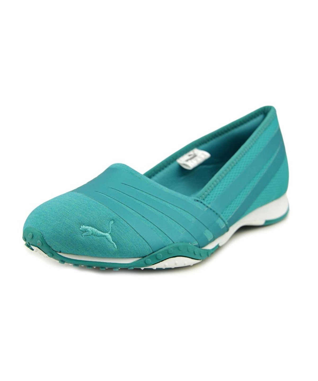 PUMA Asha Alt 2 Shine Women Round Toe Canvas Green Walking Shoe ... 955023cfa