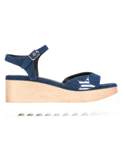 Blue Star Denim Elyse Sandals
