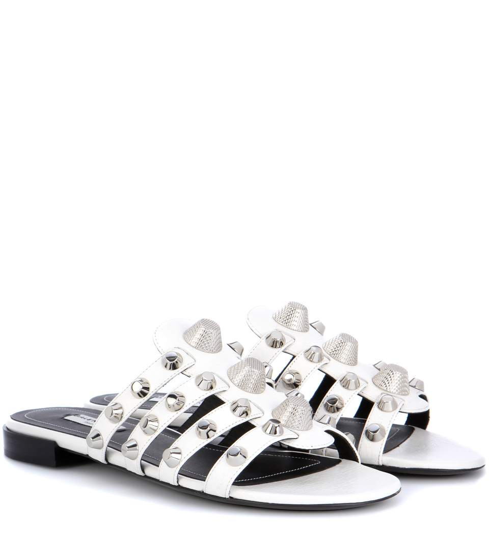 Balenciaga Gladiator Leather Sandals Looking For Cheap Price J6hkYy6x
