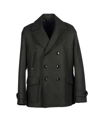 HARDY AMIES Coat in Dark Green