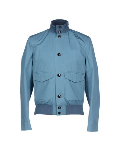 HARDY AMIES Bomber in Pastel Blue