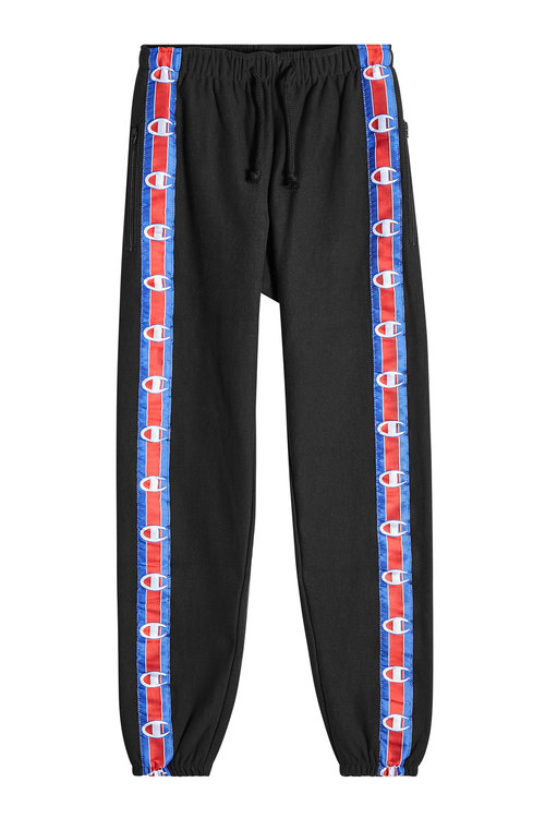5e2ff04c0ff0 VETEMENTS X Champion Cropped Track Pants