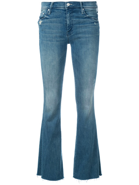 The Hustler High Rise Step Hem Jeans, Blue