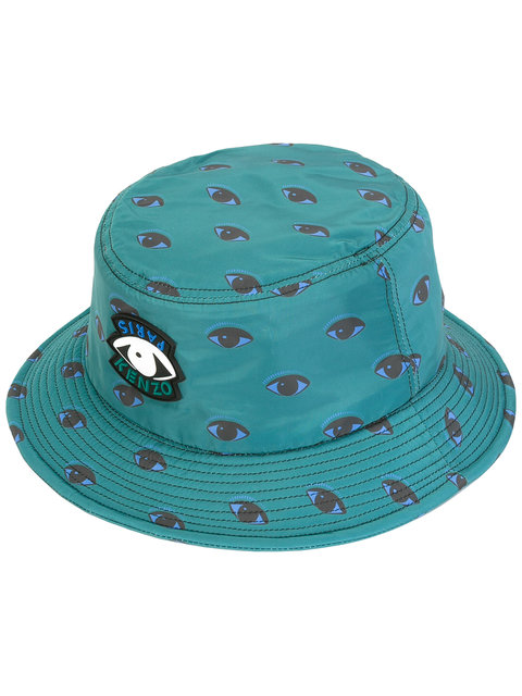 Kenzo Eye Print Bucket Hat  1c8d5d9b16a7