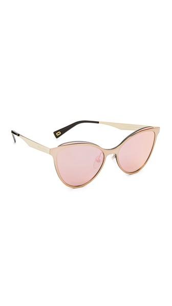 35f91da4193 Marc Jacobs Cat Eye Sunglasses In Grey Blue Grey Rose