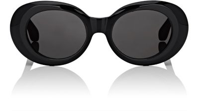 Mustang Oval-Frame Acetate Sunglasses - Black - One Siz from Acne Studios