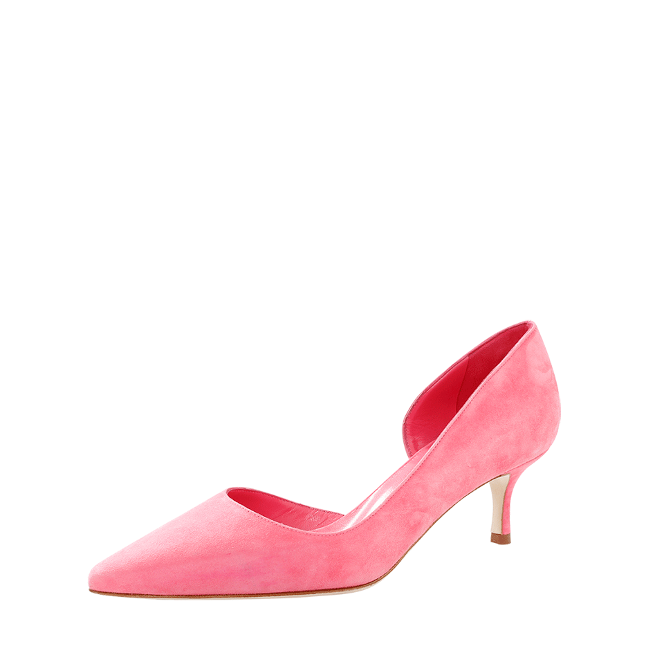 MANOLO BLAHNIK COLLINA PUMP, WATERMLN
