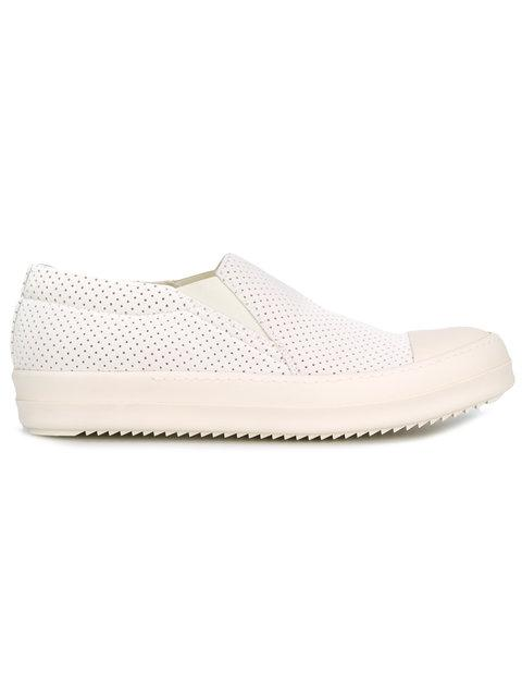 slip-on sneakers - White Rick Owens bdHpZOwiD