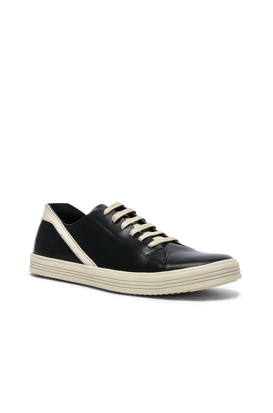 Geothrasher Leather-trimmed Suede Sneakers Rick Owens UZse4QownZ