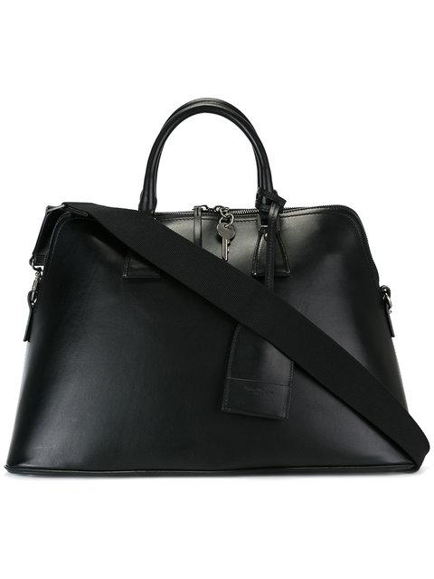 MAISON MARGIELA Black Leather 5Ac Bag