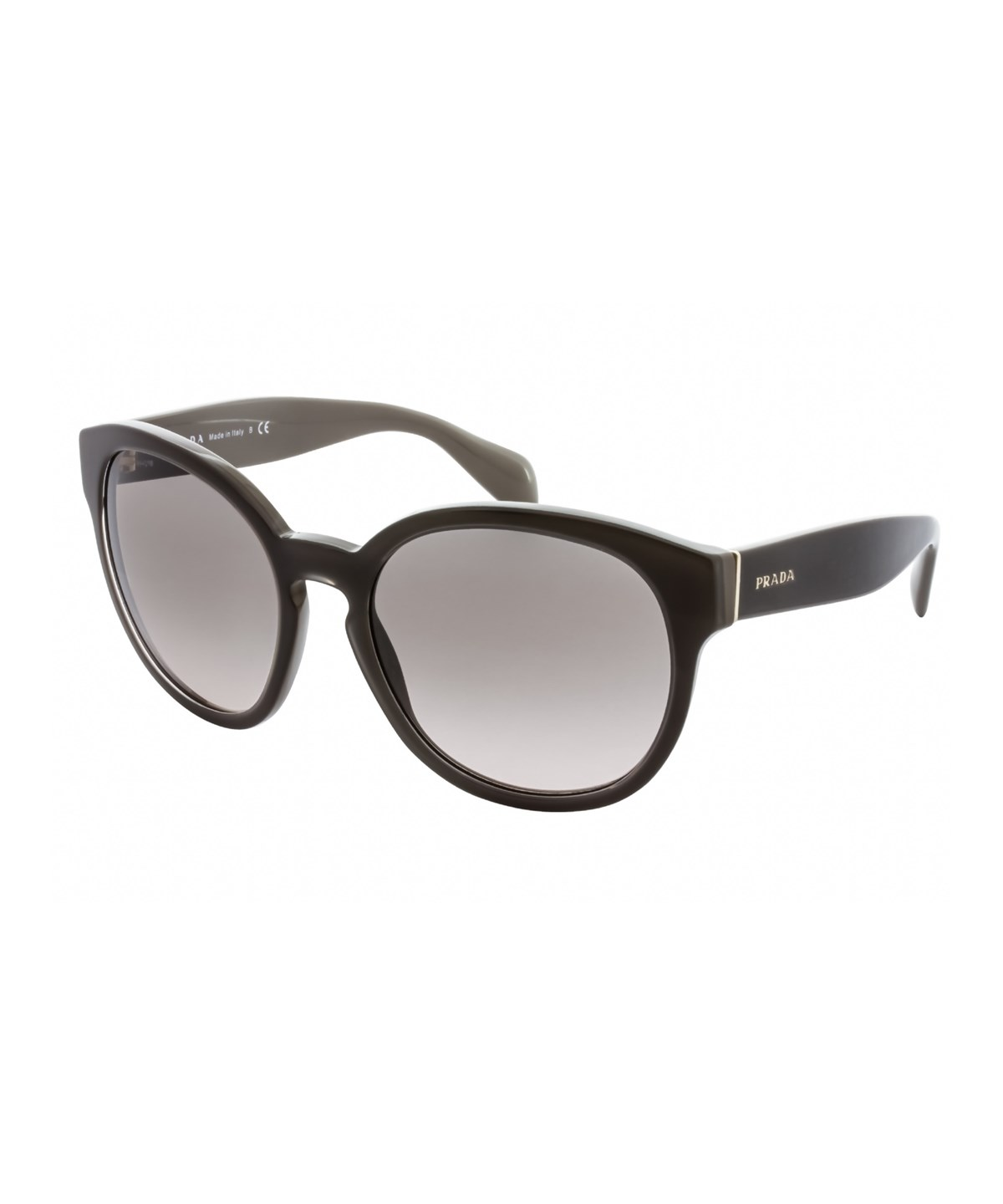 PRADA Pr 18Rs Uam4K0' in Brown/Pink Gradient Grey