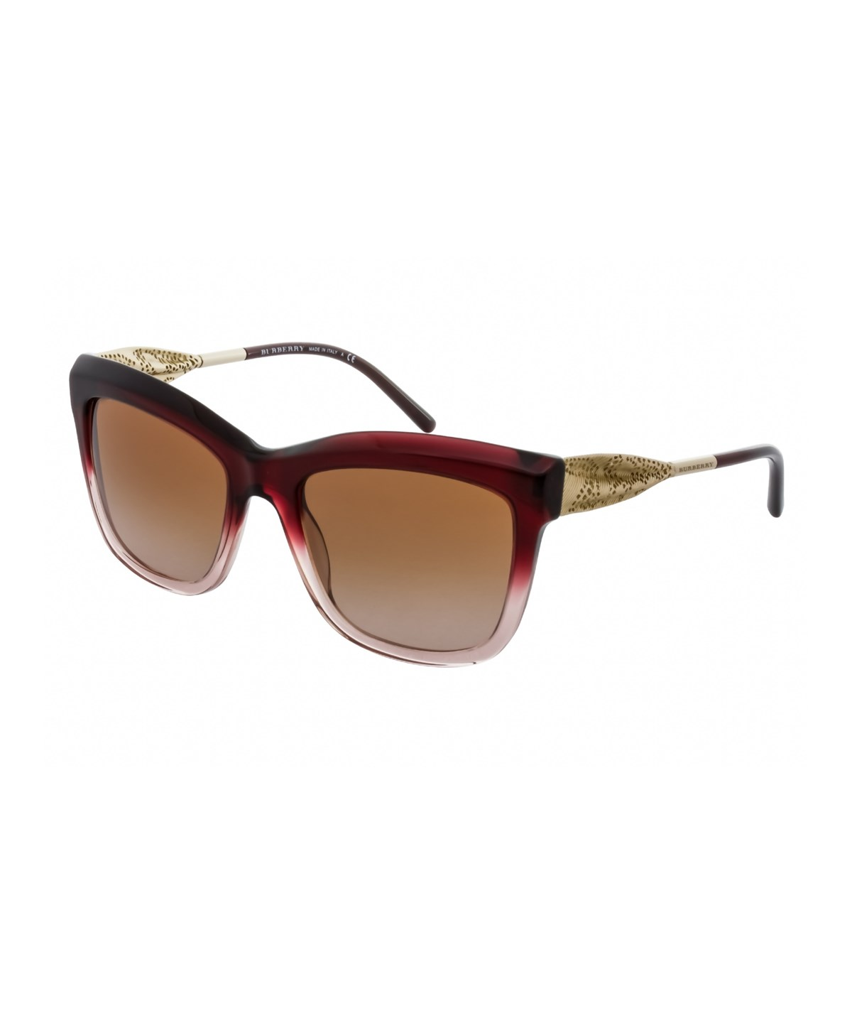 BURBERRY Be4207 355313' in Bordeaux/Brown Gradient