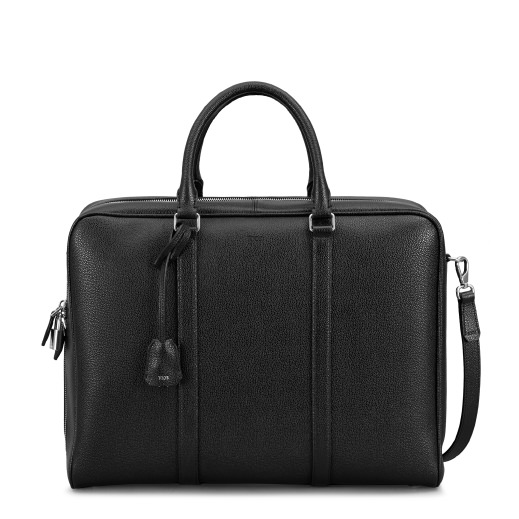 TOD'S Classic Briefcase in Black